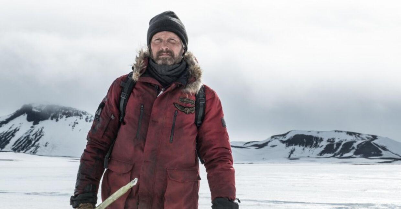 Mads Mikkelsen i 'Arctic'.