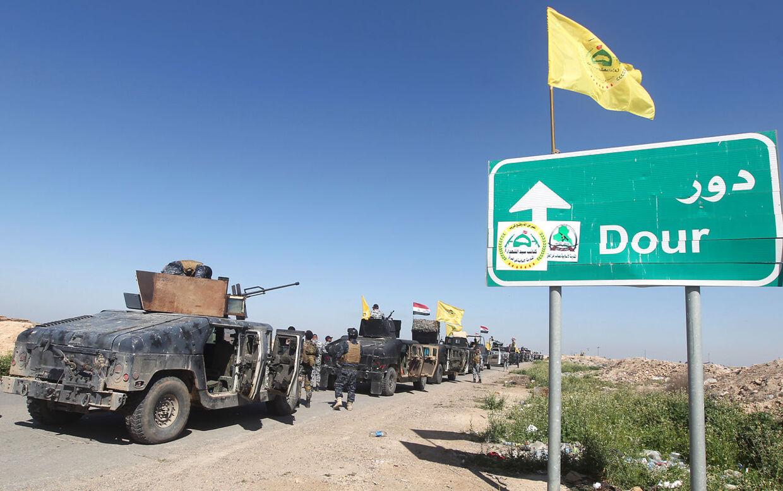 Irakiske sikkerhedsstyrker kæmper mod Islamisk Stat i 2015. Irak-krigen har skabt grobund for udviklingen af nye terrororganisationer.