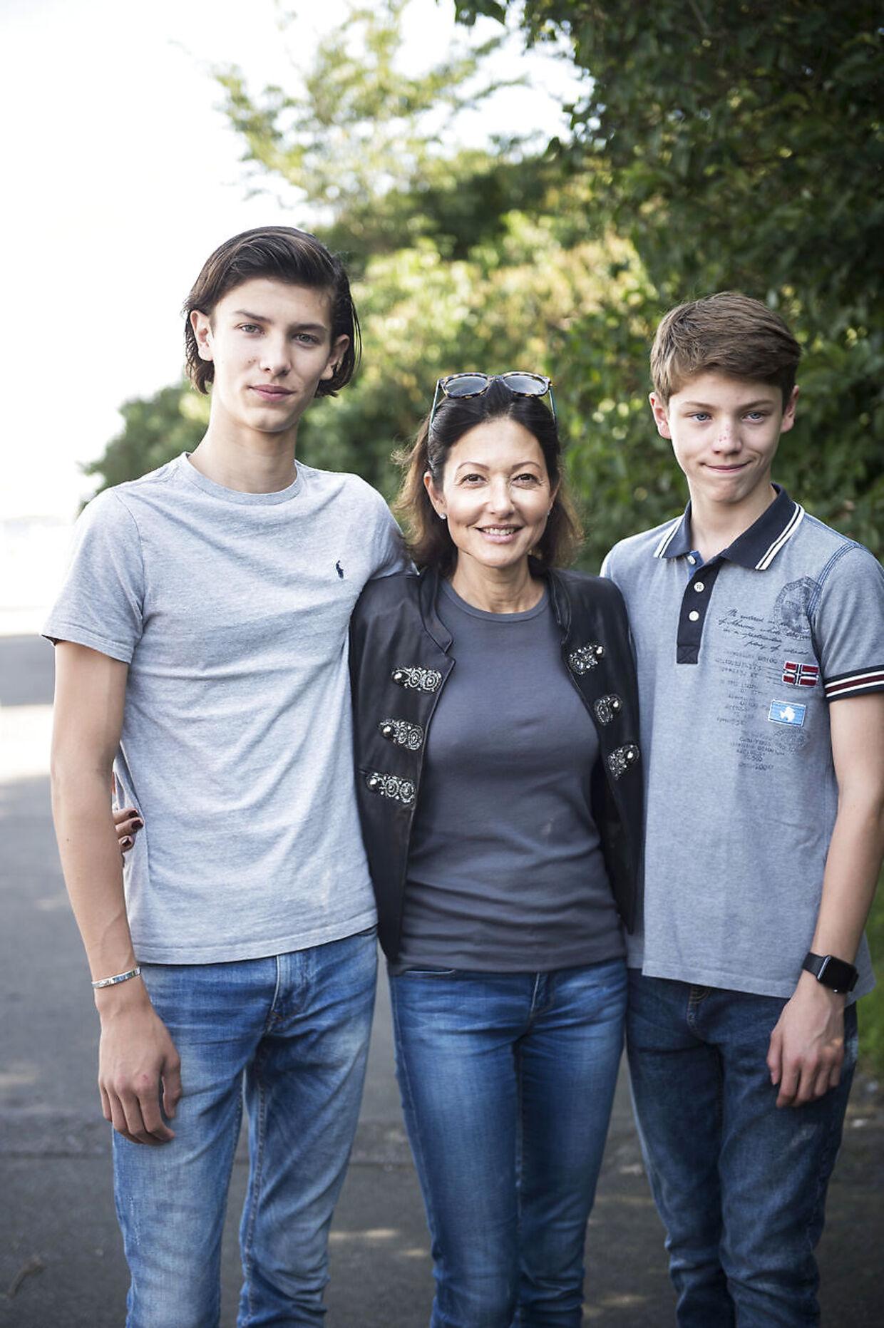 Grevinde Alexandra har introduceret hendes sønner, prins Nikolai og prins Felix, for sin kæreste, Tony Lindkold.