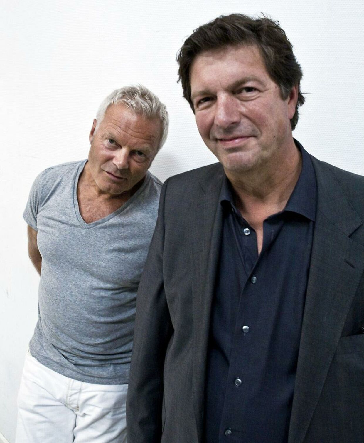 Ole Stephensen og Jarl Friis Mikkelsen udgjorde makkerparret Walter og Carlo. Arkivfoto