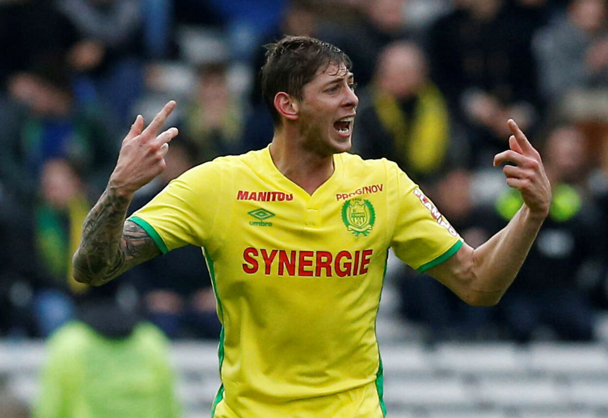 Emiliano Sala i aktion for Nantes.