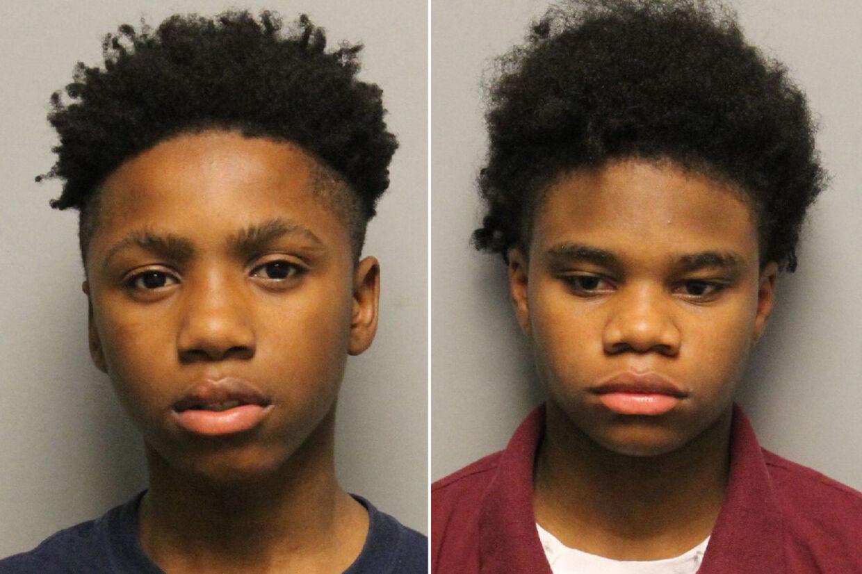 Decorrius Wright (tv.) og Diamond Lewis (th.) er to af de fem sigtede i sagen. Foto: Nashville Police Department