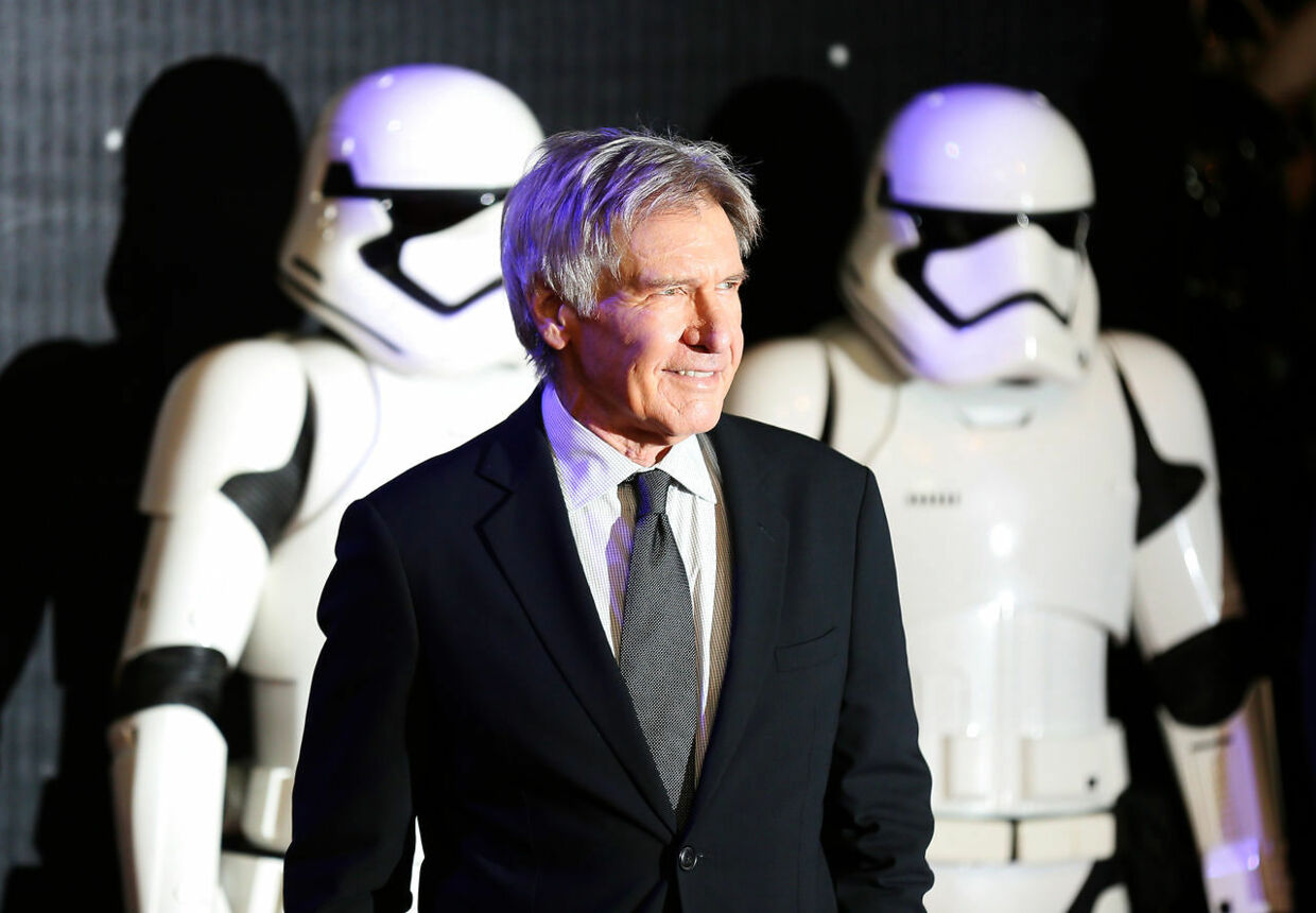 Harrison Ford advarer om klimforandringerne. REUTERS/Paul Hackett/Files