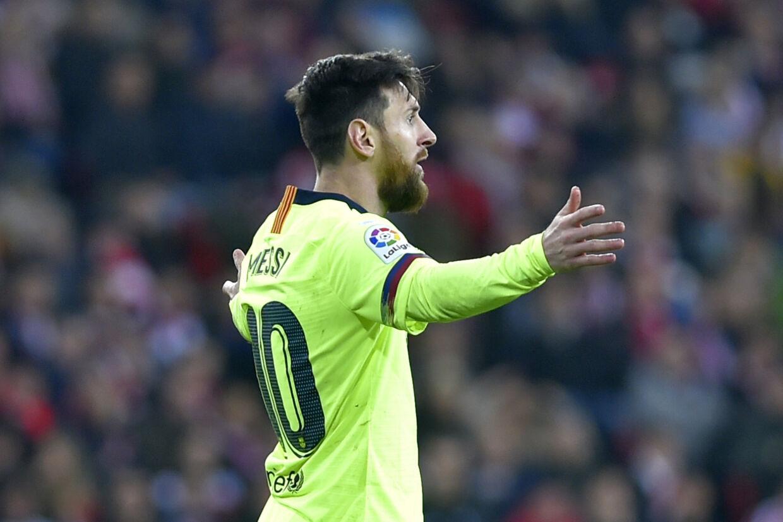FC Barcelona kunne heller ikke vinde ude over Athletic Bilbao søndag aften i Primera Division og spillede uafgjort for anden ligakamp i træk. Ander Gillenea/Ritzau Scanpix