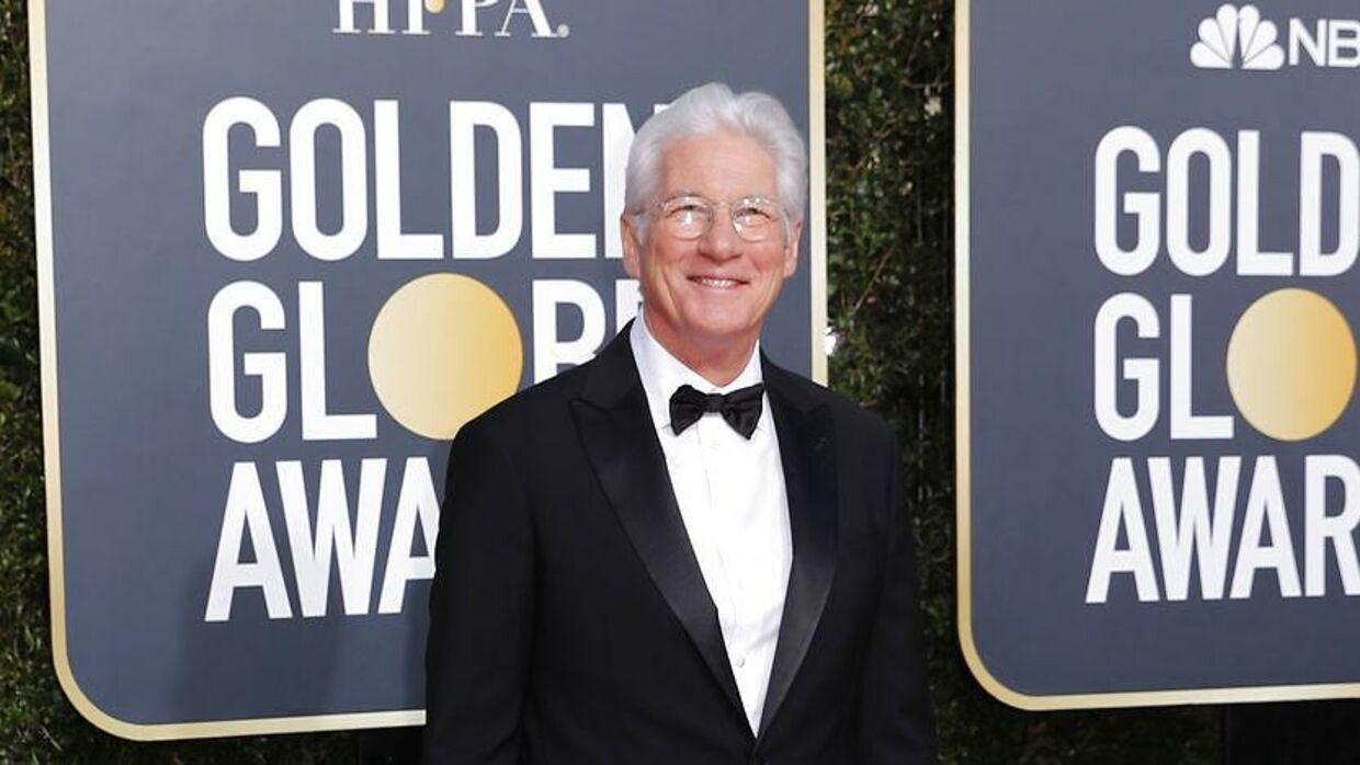 Her ses Richard Gere til prisuddelingen Golden Globe Awards i Los Angeles den 6. januar 2019.