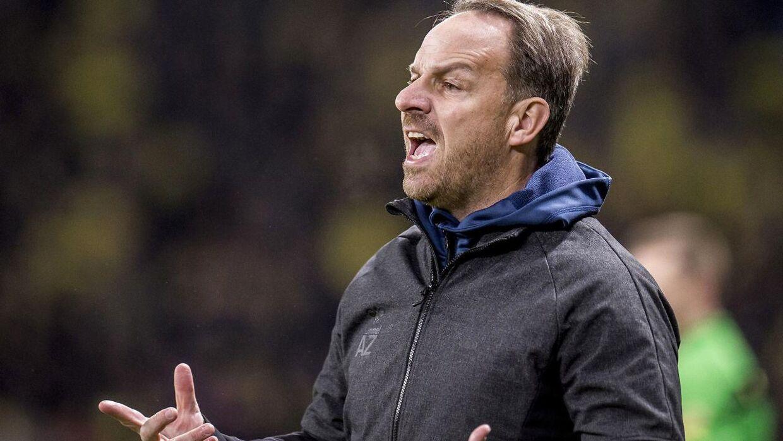 Brøndbys cheftræner Alexander Zorniger.