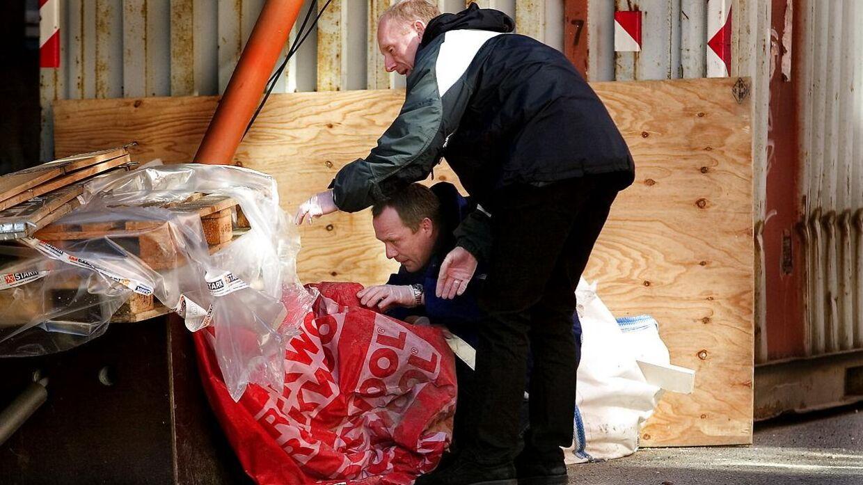 Af to omgange fandt politiet ligdele af Torben Vagn Knudsen, der var blevet parteret af Ahmed Numan Isaac Rahma og Jared Heller.