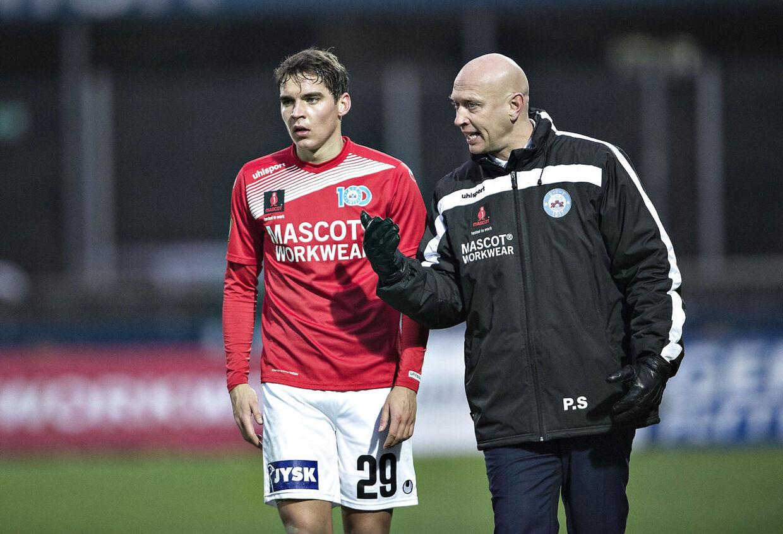 Robert Skov og Peter Sørensen.