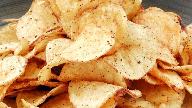 Et japansk firma har udviklet en chipspose, så man nærmest kan drikke chips.