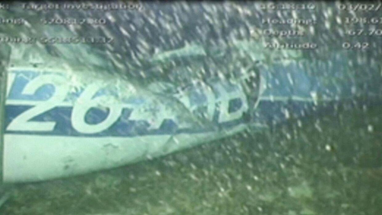 Flyvraget blev fundet i starten af februar.