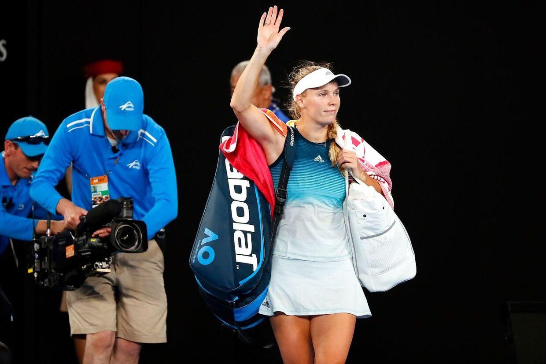 Caroline Wozniacki har ikke spillet en kamp siden hun i januar ved Australian Open tabte til Maria Sharapova.
