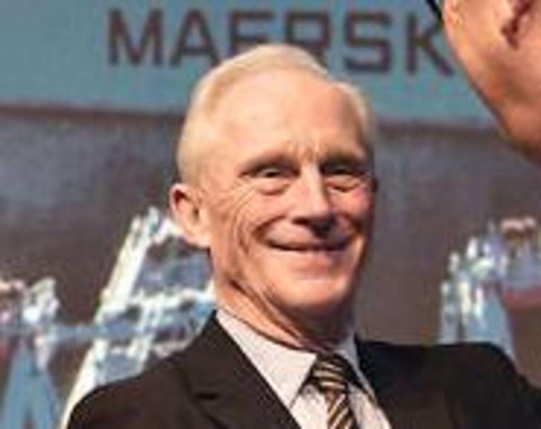 Den tidligere tennisspiller Jan Leschly er bestyrelsesmedlem i Mærsk-koncernen.
