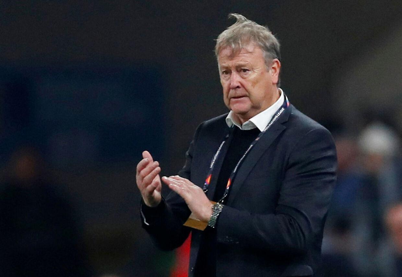 Landstræner Åge Hareide er imponeret over de danske spilleres niveau i Europa.