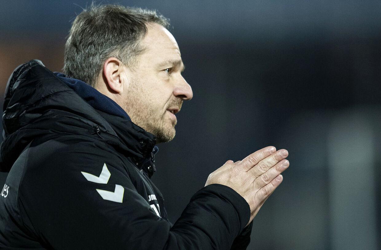 Brøndbys træner Alexander Zorniger. Superliga, runde 22: Esbjerg-Brøndby på Blue Water Arena i Esbjerg den 17 februar 2019.