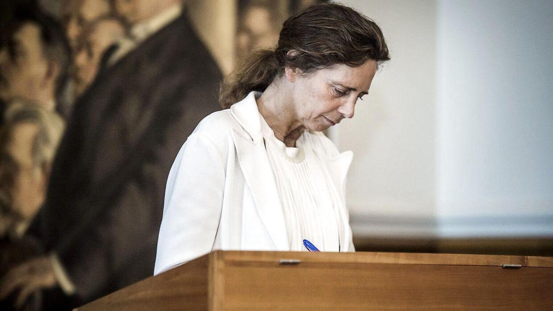 May-Britt Kattrup, sundhedsordfører for Liberal Alliance.