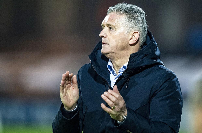 Esbjergs træner, John Lammers.