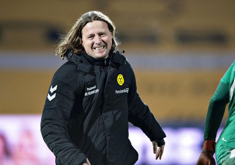 AC Horsens-træner Bo Henriksen.