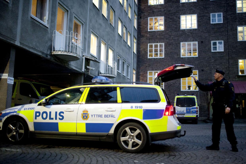 Svensk politi anholdt torsdag en svensk tv-profil