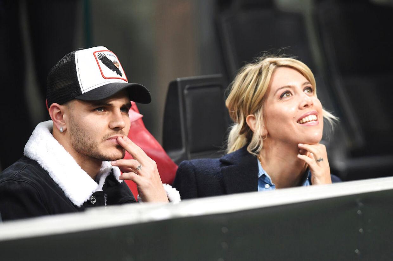 Mauro Icardi og Wanda Nara.