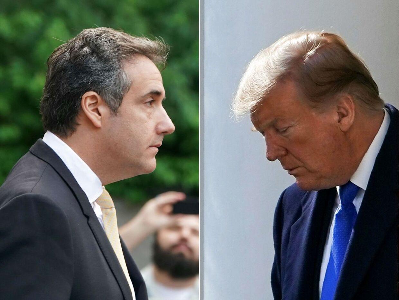 I 16 år arbejdede de tæt sammen, men nu er der kold luft mellem præsidenten og hans tidligere private advokat, Michael Cohen.