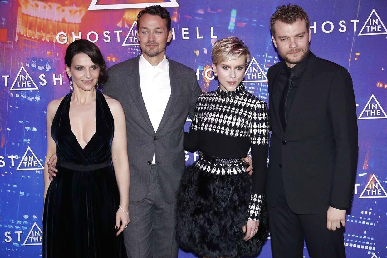 I 2017 medvirkede Pilou Asbæk i Ghost in the Shell med blandt andet Scarlett Johansson.