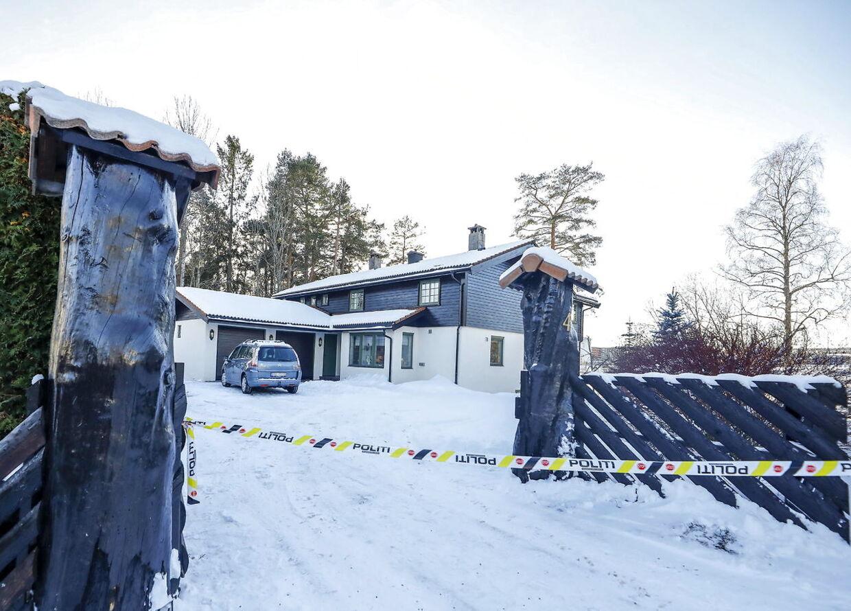 Anne-Elisabeth og Tom Hagens hjem.