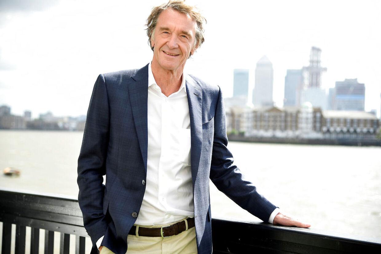Sir Jim Ratcliffe er 66 år.
