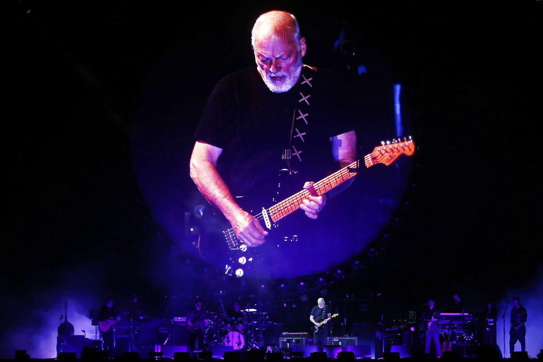 Arkivfoto. David Gilmour fra det verdenskendte band Pink Floyd var også blandt T-Rex Effects' kunder. EPA/MARIO RUIZ