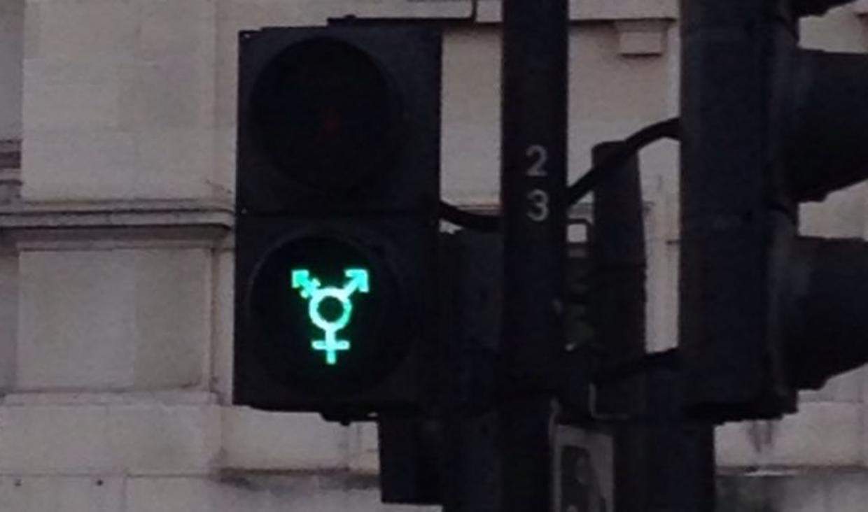 Trafiklys i London. Arkivfoto