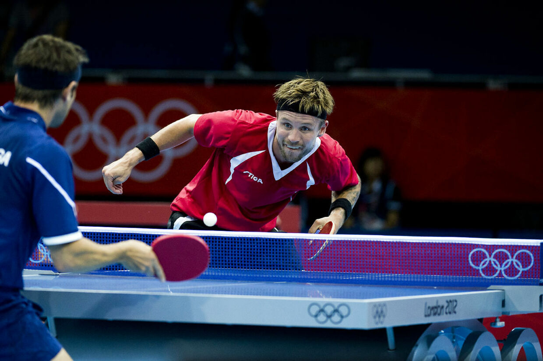 Michael Maze under OL i London 2012.