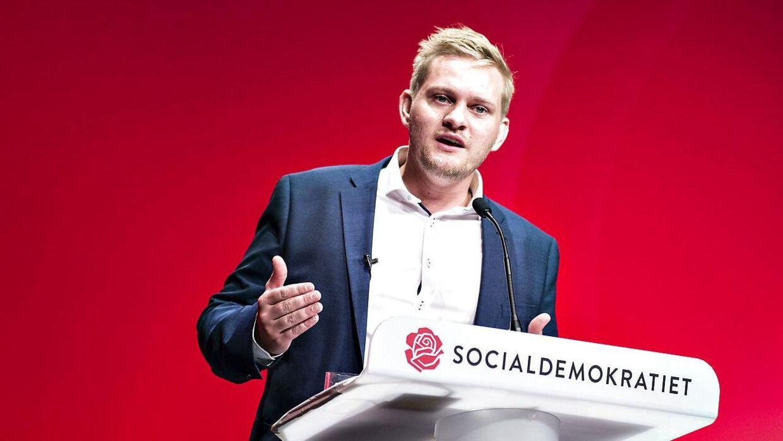 (Arkivfoto) Tidligere DSU formand Lasse Quvang Rasmussen. Scanpix 2017.