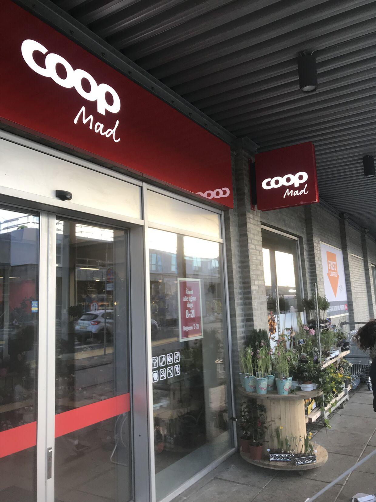 SuperBrugsen i Trekroner hedder nu Coop Mad.