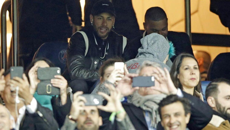 Neymar var rasende efter kampen.