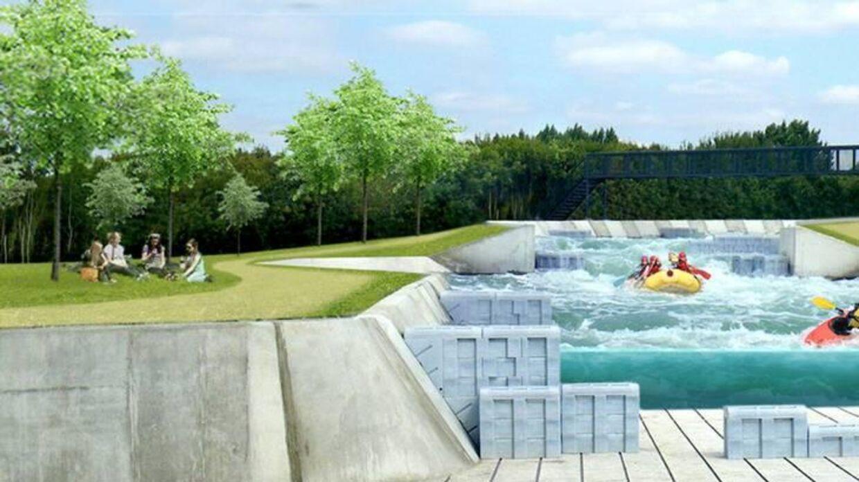 Planerne om Danmarks første white water-park er droppet.