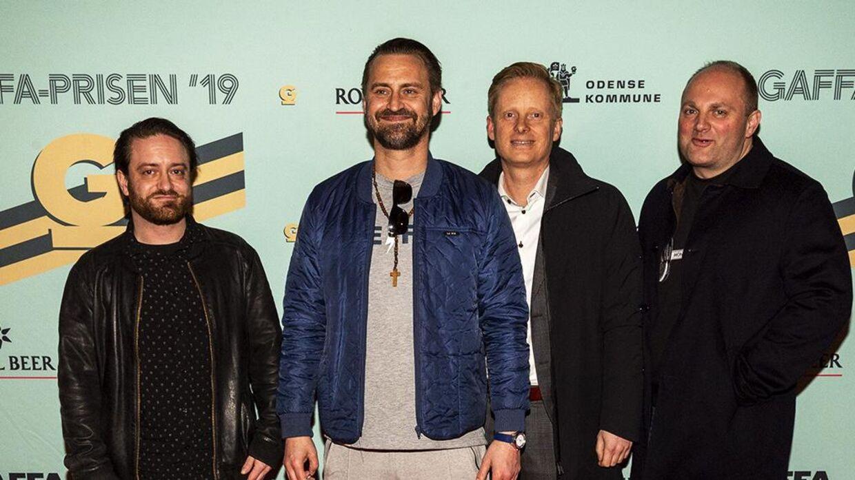 Jokeren med crew til Gaffa-prisen 2019.