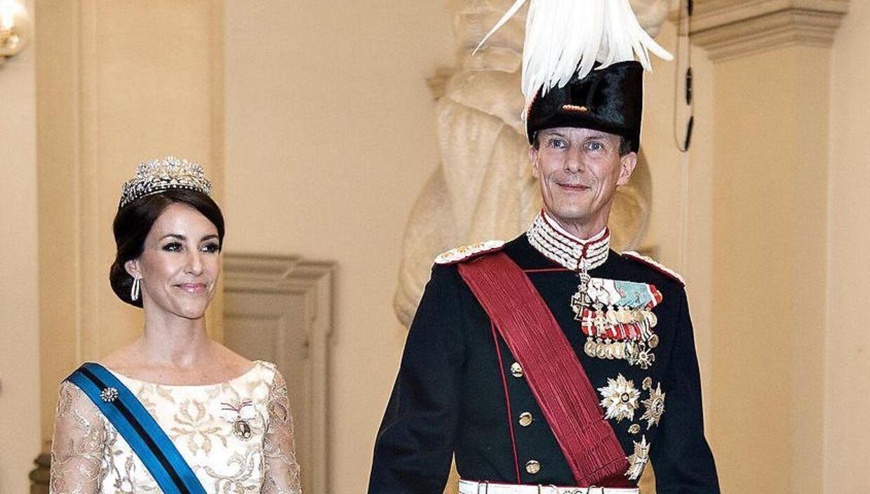 Arkivfoto. Prins Joachim og prinsesse Marie. (Foto: Henning Bagger/Scanpix 2017)
