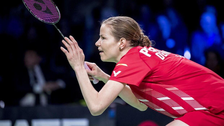 Christinna Pedersen stopper på det danske landshold.
