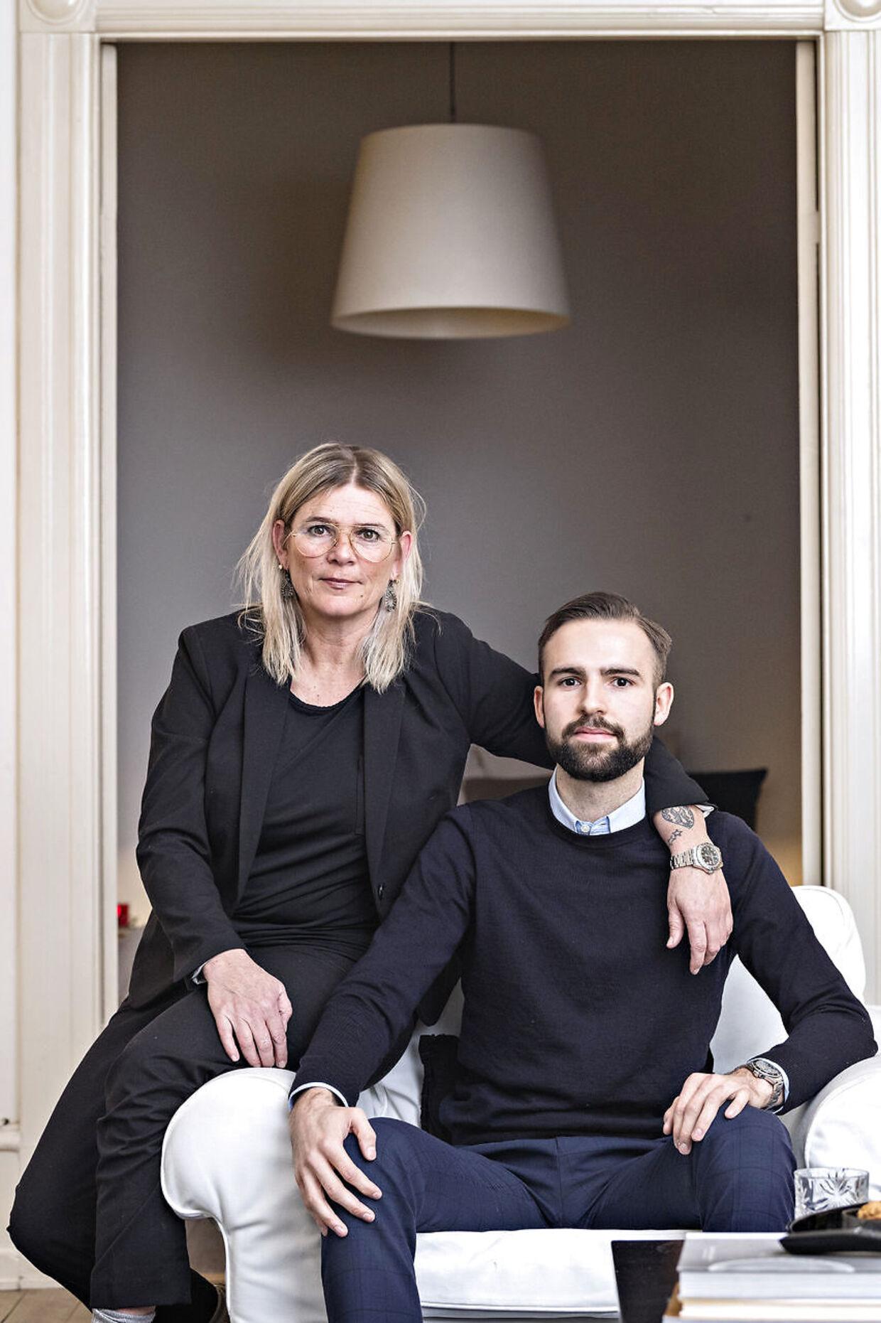 Magnus Trampe Broch løj i to år for sin mor Stine Trampe Broch om at han tog stoffer.