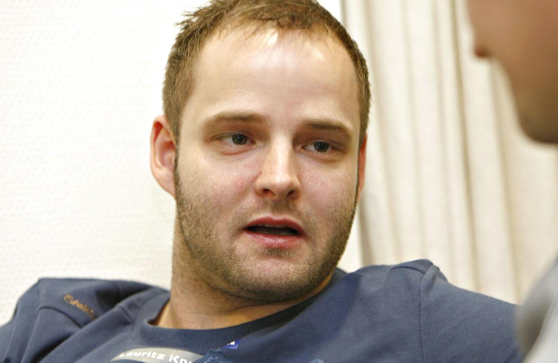 Lars Rasmussen under EM-forberedelserne tilbage i 2008.