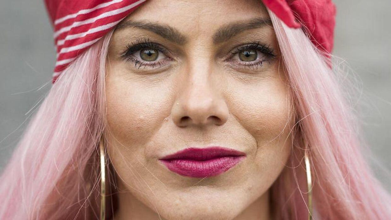 Portræt af Louise 'Twerk Queen' Kjølsen.