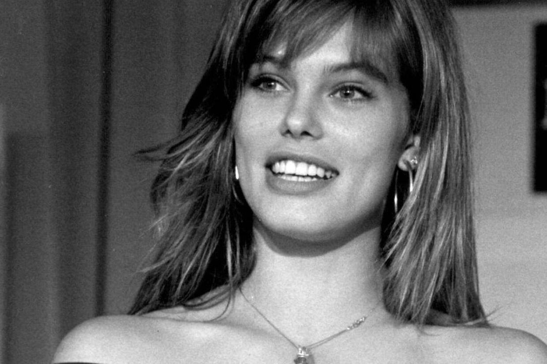 Arkivfoto af Renée Toft Simonsen taget i 1987, dengang hun arbejdede som model.