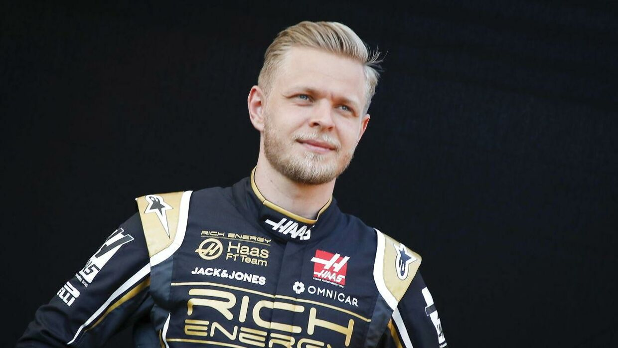 epa07435602 Danish Formula One driver Kevin Magnussen of Haas F1 Team poses during a portrait session ahead of the 2019 Formula One Grand Prix of Australia at the Albert Park Grand Prix Circuit in Melbourne, Australia, 14 March 2019. The 2019 Formula One Grand Prix of Australia will take place on 17 March 2019. EPA/DIEGO AZUBEL