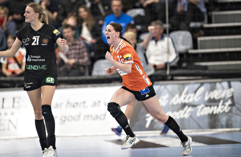 Mie Højlund er efterhånden en fast bestanddel af landstræner Klavs Bruuns hold.