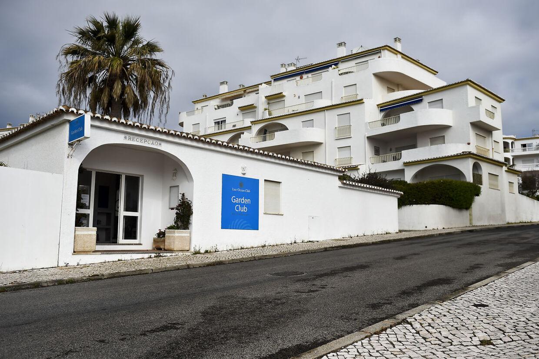 Hotellet Luz Oceans Club - Garden Club i Praia da Luz på den portugisiske Algarve-kyst, hvor Madeleine McCann blev bortført.