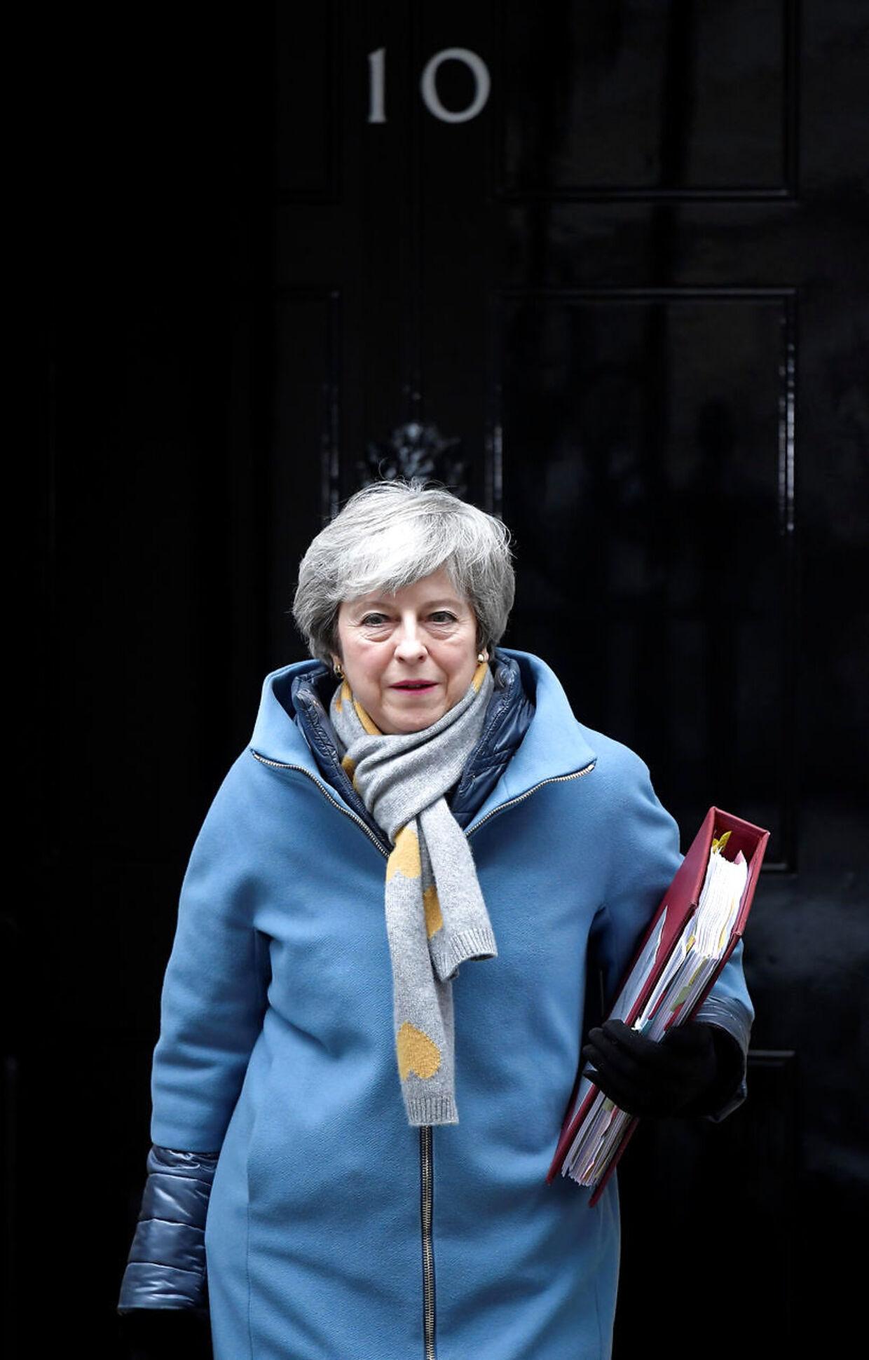 Theresa May vil forsøge at få et ja til sin aftale med EU endnu en gang.