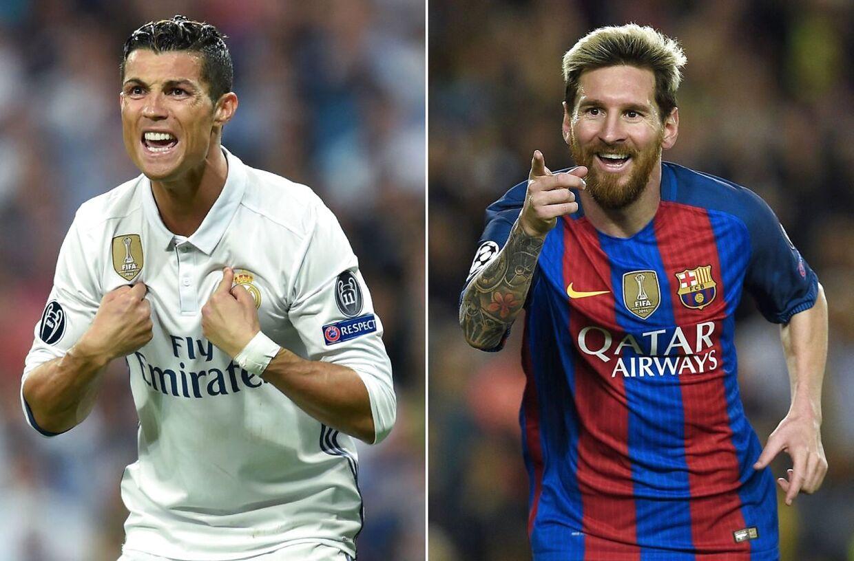 Ronaldo og Messi er bare i en klasse for sig.