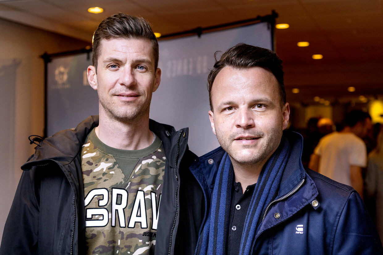 No Promises-sangeren Bryan Rice (th) med sin mand, Mads Enggaard