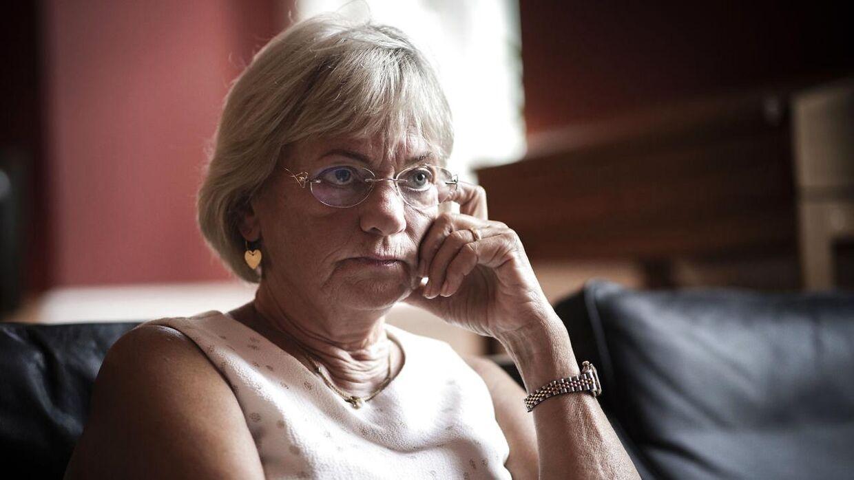 Pia Kjærsgaard fortæller i et nyt interview, hvordan hun og hendes bror blev svigtet af deres mor som barn. (Arkivfoto)