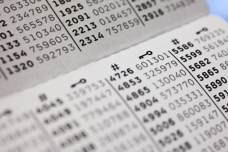 I 2021 vil det ikke være muligt at logge ind med sit NemID ved at bruge en kode fra det velkendte papkort. (Arkivfoto) Jonas Vandall ørtvig/Ritzau Scanpix