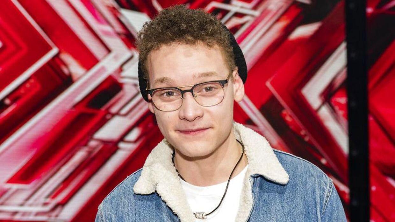 Benjamin i 'X Factor' 2019.